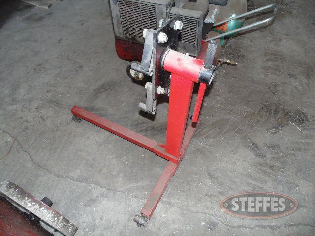 Shop engine stand