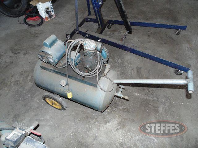 Portable shop compressor