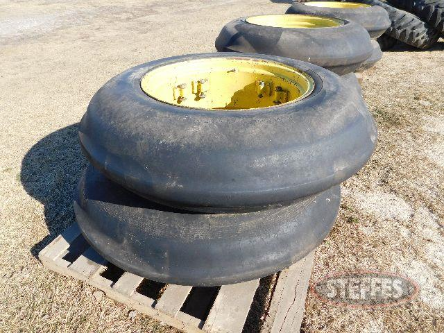 (3) Sets single rib tires for 60/70 Series MFWD
