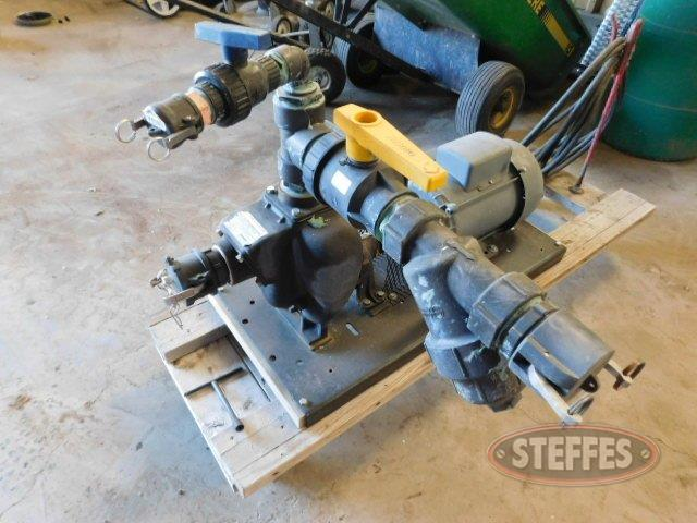 "Electric 2"" water pump"