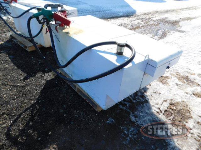 Crossbox toolbox w/100 gal. fuel unit,