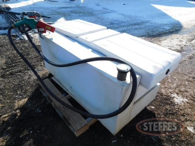 Crossbox toolbox w/90 gal. fuel unit,