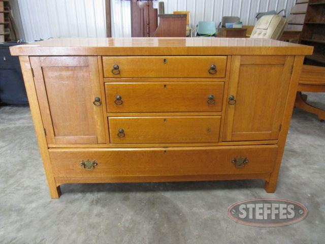 Wood Dresser 33- tall x 54- wide x 20.5- deep_1.JPG