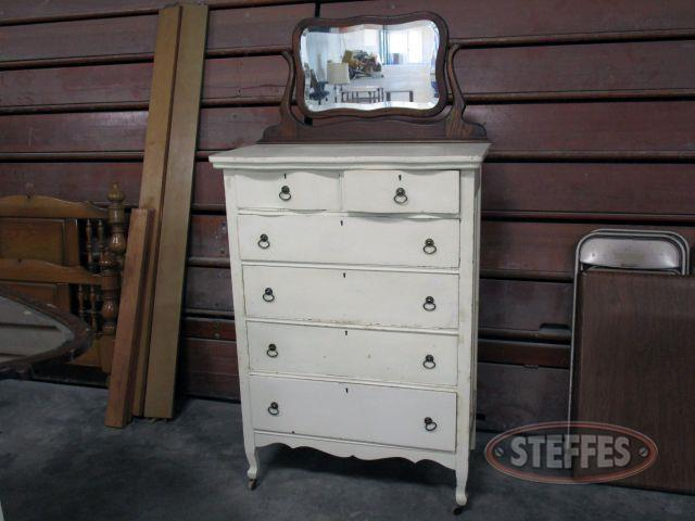 6 Drawer Dresser with Mirror 48- tall (65- with mirror) x 33.5- wide x 19- deep_1.JPG