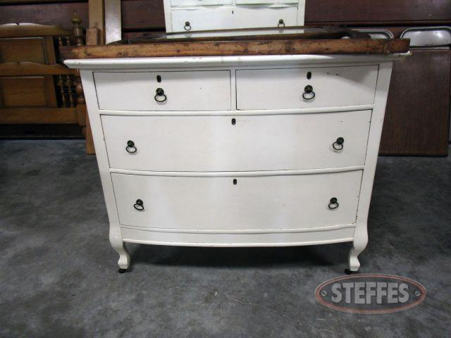 4 Drawer Dresser with Mirror 35.5- tall (68.5- tall with mirror) x 42- wide x 20- deep_1.JPG
