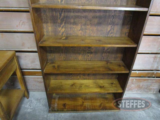 Wood Bookshelf 86- tall x 37- wide x 9.25- deep_1.JPG
