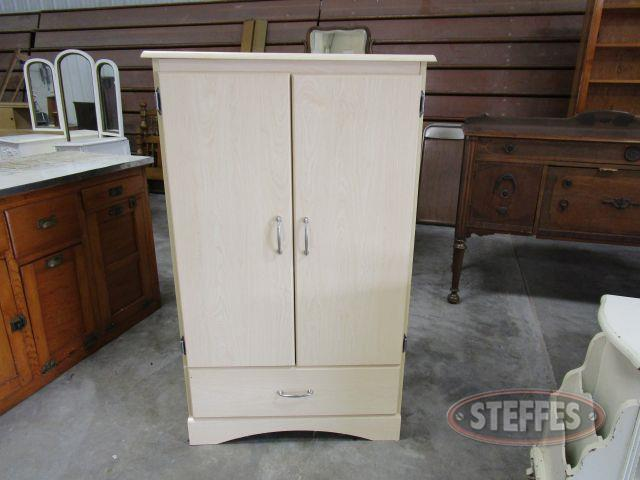 Cabinet 48.5- tall x 29.5- wide x 15.5- deep, 3 shelves - 1 drawer_1.JPG
