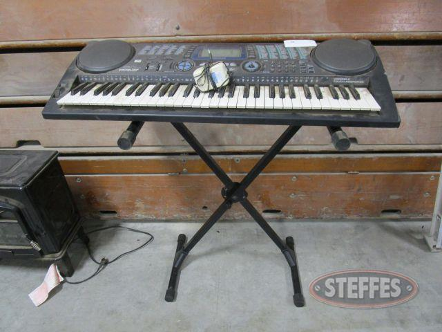 Radio Shack Electric Keyboard - Stand_1.JPG