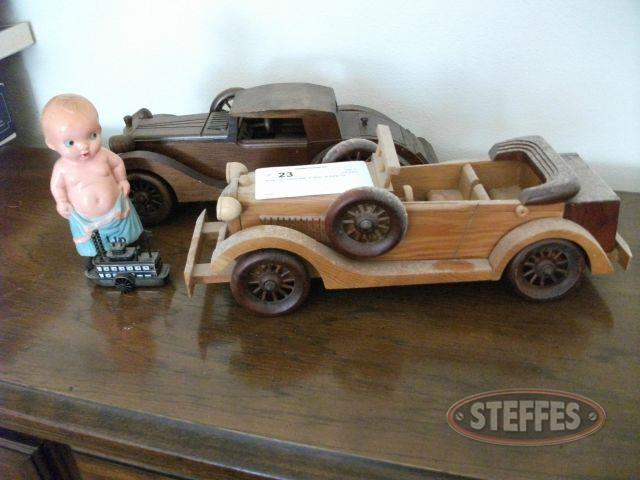 Wood Cars, Metal Ship, - Wind Up Baby Toy_2.jpg