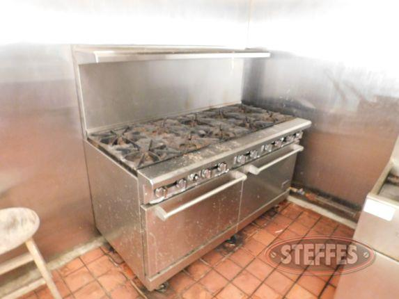Royal 10 burner gas stove