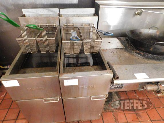 Dean 2 basket fryer