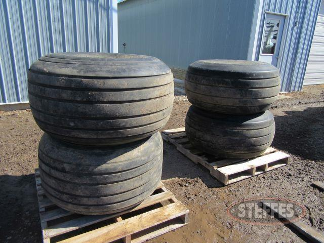 (4) 21.5-16.1 tires