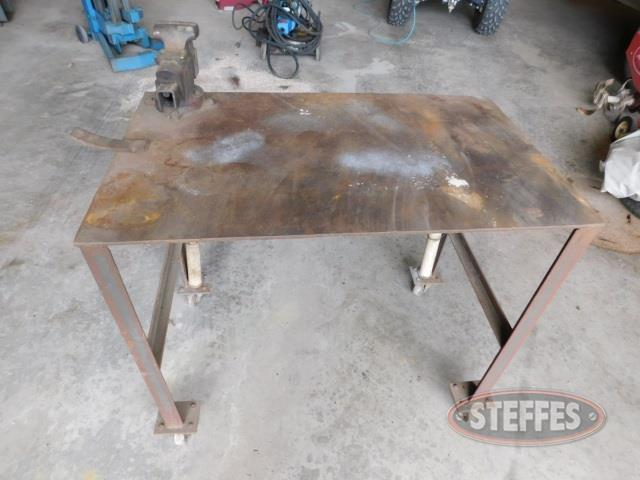HD steel welding table,