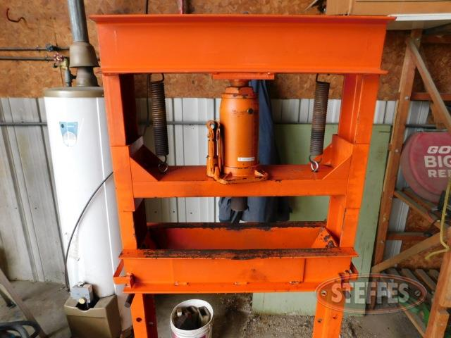 Shop press, 12 ton