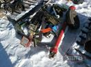 (2) NH3 manifolds w/stands,