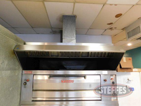 Stainless Steel Hood system with fan