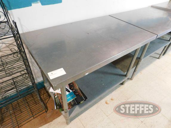 Staniless Steel Prep Table