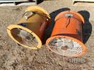 "(2) 12"" aeration fans"
