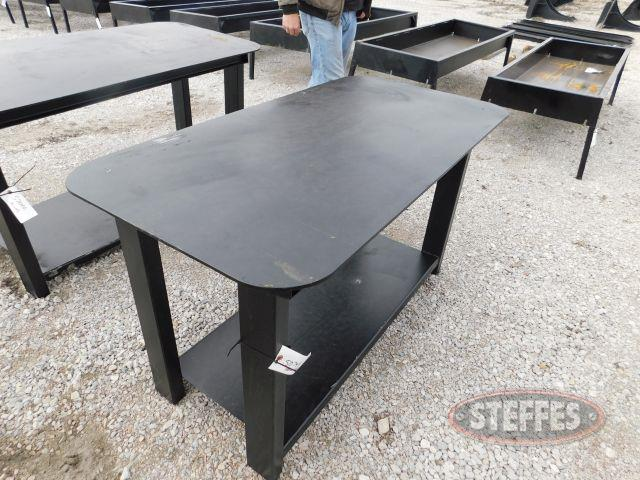Heavy Duty 30x57 Welding Shop Table w/ shelf (NEW)