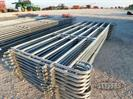 (10) 12' Interlocking Corral Panels (X-MONEY)(NEW)