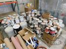 (4) Pallets of asst. paints,