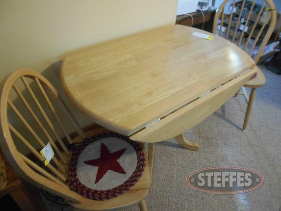 Round drop leaf table - 2 chairs_2.jpg