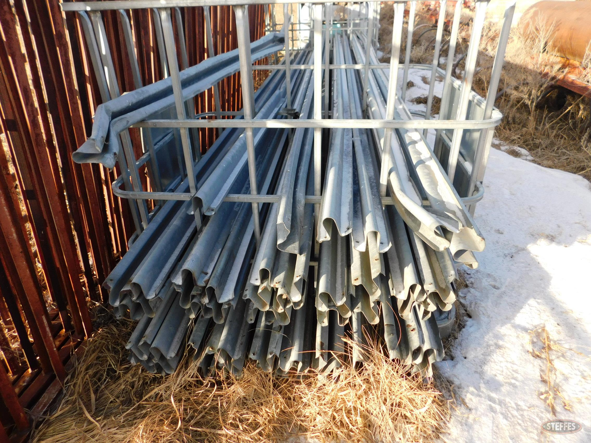 Approx. (50) 16' galvanized guard rails