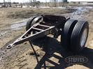 Semi dolly single axle duals