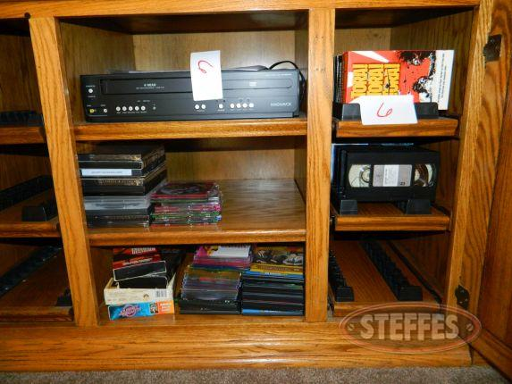 DVD/ VHS players & various DVD & VHS movies