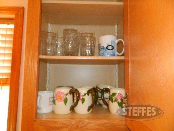 Contents of Cupboard - various glassware_2.jpg
