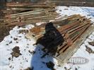 large assortment steel T-posts