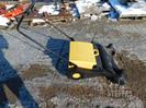Walk-behind push floor sweeper,
