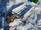 Rear adj. cultivator hitch,