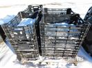 (14) Plastic vegetable crates,