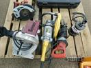 Asst. power tools including: