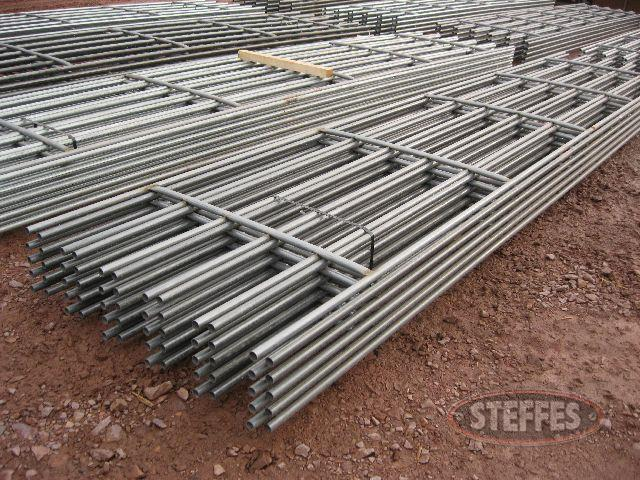 (10) continuous fence panels