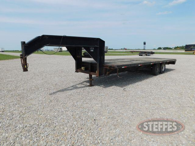 1998 May GN flatbed trailer