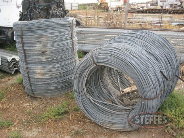 "(2) rolls 3/8"" cable"
