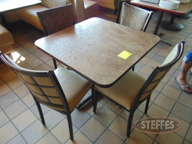 "Table, 35-1/2""x35-1/2"","