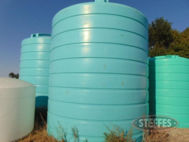 (2) Enduraplas liquid fert. poly tanks, 10,000 gal.,