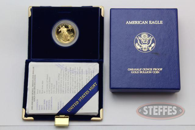 1995-W Proof Twenty Five Dollar Gold Eagle