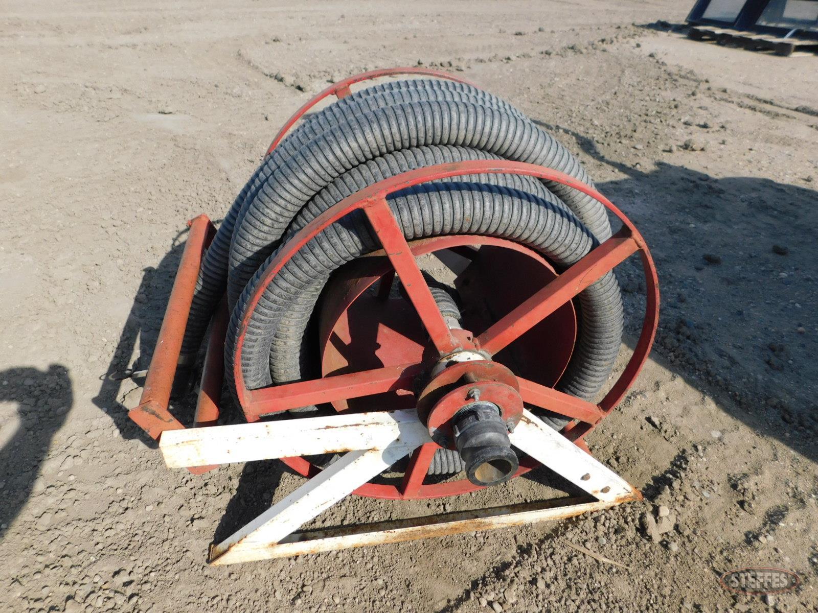 Manual crank hose reel, 2-x 40-+-- hose,_1.JPG