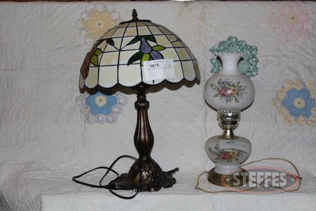 (1)-Tiffany-Style-Lamp-and-(1)-Kerosene-Style-Lam_2.jpg