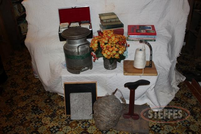 Books--cream-can--flour-sifter--cobbler-stand--and-spool-stand_2.jpg