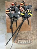 Assorted Spring and Frame Clamps