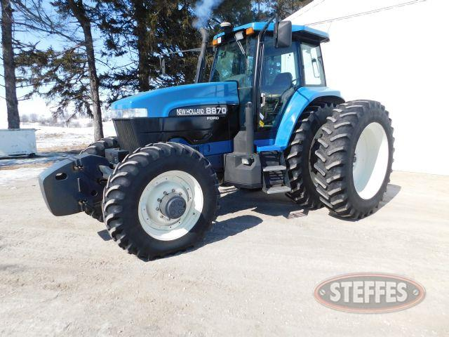 1997 New Holland 8870