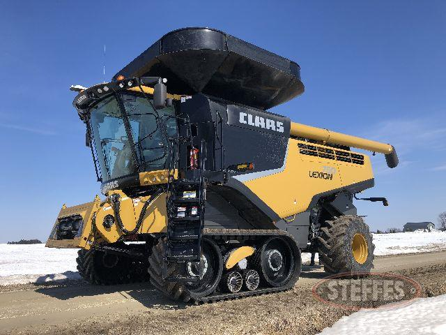 2014 Caterpillar Lexion 750TT
