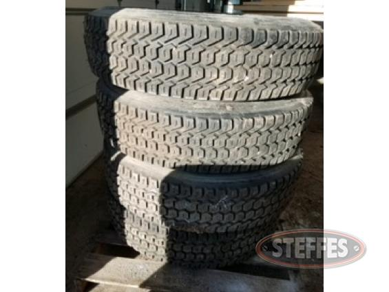 (4) 275-80R22.5 retread tires, _1.jpg