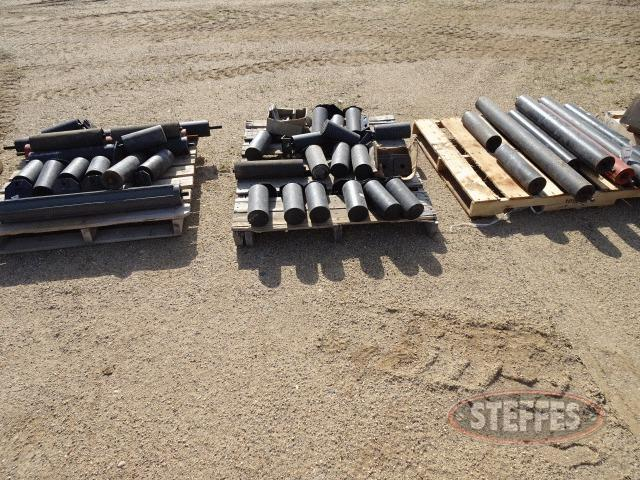 Conveyor roller assortment - (3) pallets