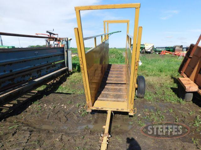 Sioux portable loading chute,